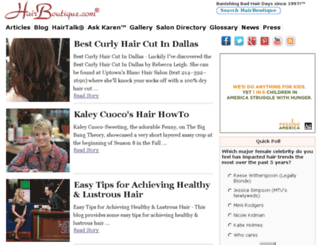 salondirectory.hairboutique.com screenshot