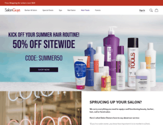 salonguys.com screenshot
