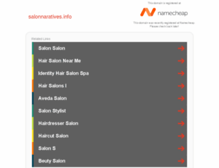 salonnaratives.info screenshot
