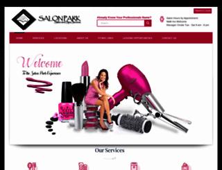salonpark.com screenshot