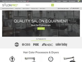 salonproequipment.com screenshot