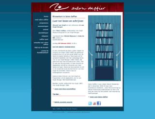 salonsaffier.nl screenshot