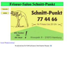 salonschnittpunkt.de screenshot