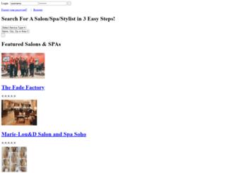 salonsearch.com screenshot
