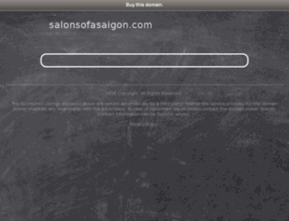 salonsofasaigon.com screenshot