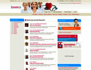 salony-kosmetyczne-pieknosci.ilekarze.pl screenshot