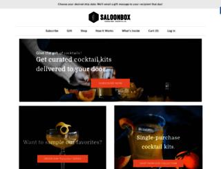 saloonbox.com screenshot