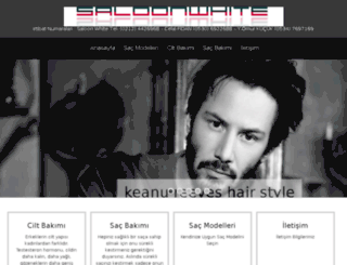 saloonwhite.com screenshot