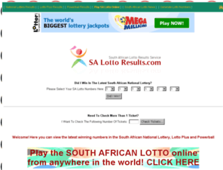 salottoresults.com screenshot