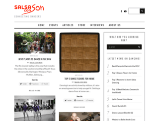 salsaconson.com screenshot