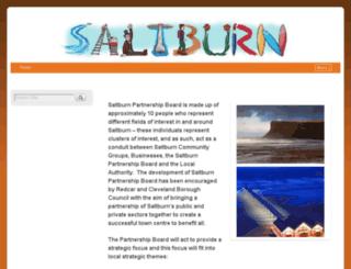 saltburntown.co.uk screenshot