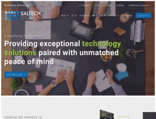 saltechsystems.com screenshot
