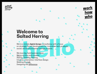 saltedherring.com screenshot