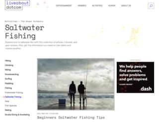 saltfishing.about.com screenshot