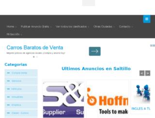saltillo.anuncioslocales.com.mx screenshot