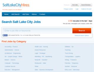 saltlakecity.localhires.com screenshot