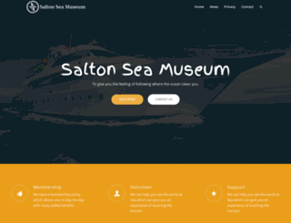 saltonseamuseum.org screenshot