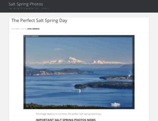 saltspringphotos.com screenshot