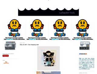 saltwater-kids.com screenshot