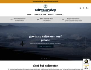 saltwater-shop.com screenshot