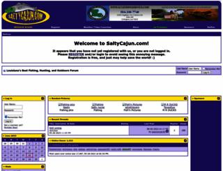 saltycajun.com screenshot