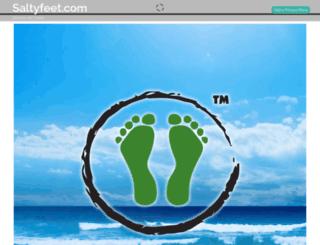 saltyfeet.com screenshot
