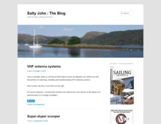 saltyjohntheblog.com screenshot
