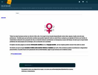 salud-mujer.idoneos.com screenshot
