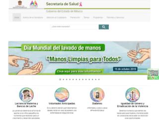 salud.edomexico.gob.mx screenshot