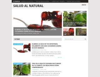 saludalnatural.net screenshot