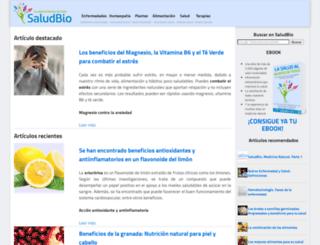 saludbio.com screenshot