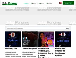 saludpanama.com screenshot