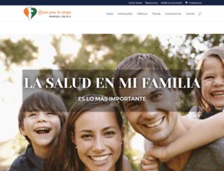saludparatucuerpo.com screenshot