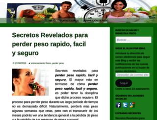 saludybienestarfisico3.wordpress.com screenshot