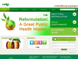 salus-project.eu screenshot