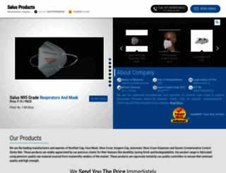 salusproduct.com screenshot