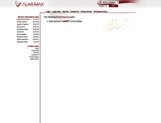 salut77.alivemax.com screenshot