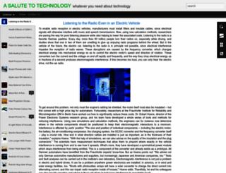 salutetech.blogspot.com screenshot