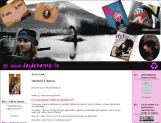salutthomas.blogspirit.com screenshot