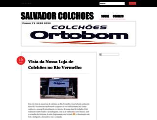 salvadorcolchoes.wordpress.com screenshot