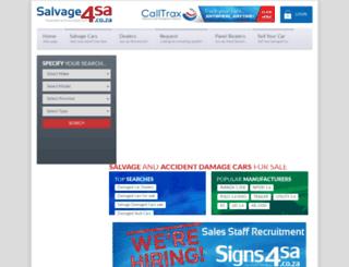 salvage4sa.co.za screenshot