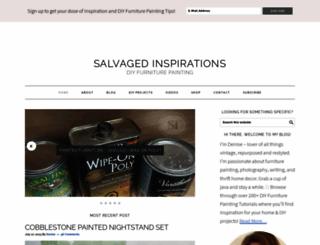 salvagedinspirations.com screenshot