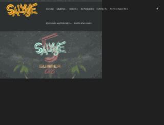 salvajerivieramaya.com screenshot