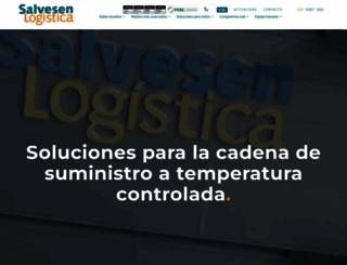 salvesenlogistica.com screenshot