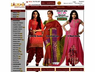 salwar.com screenshot