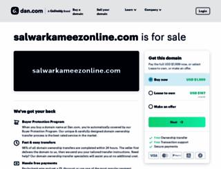 salwarkameezonline.com screenshot