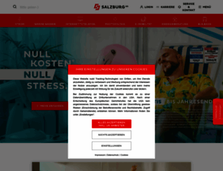 salzburg-ag.at screenshot