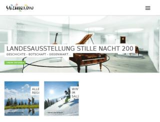 salzburg.at screenshot