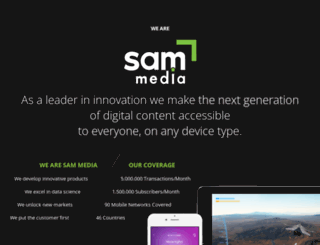sam-media.com screenshot