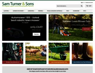 sam-turner.co.uk screenshot
